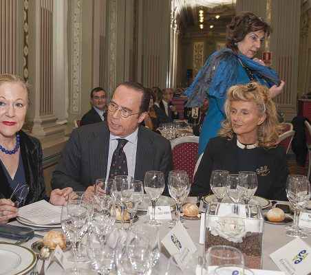 Benita Ferrero-Waldner, Antonio Vazquez, Mª Salvadora Ortiz, Isabel Tocino