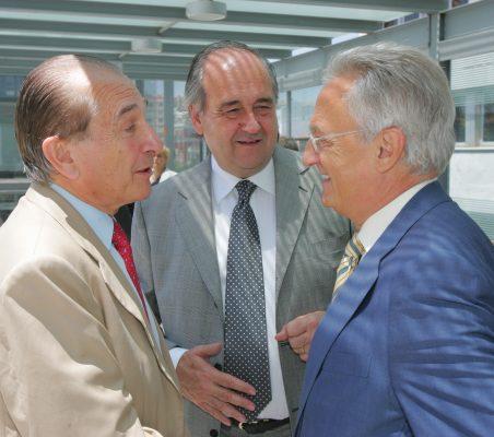 Bernar Jeux, Miguel Vergara y Ángel Durández