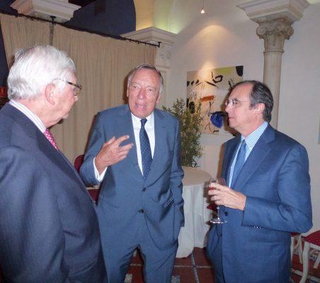 Rafael Puyol, Carsten Moser y Joaquín de la Herrán