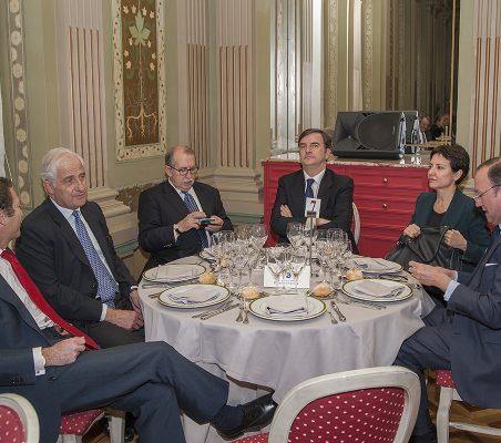 Borja Baselga, Alfonso Martínez de Irujo, Francisco Ferrero, Jorge Cachinero, Pilar Morán y Félix Losada
