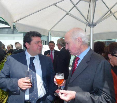 Raúl Félix Díaz y Emilio Gilolmo