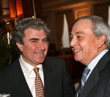 César Antonio Molina y Carlos Solchaga