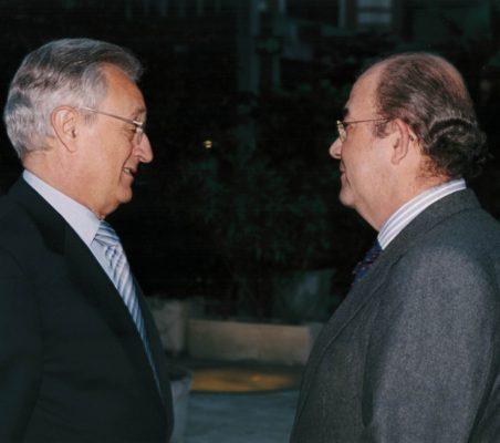 Ángel Durández y Emilio Novela