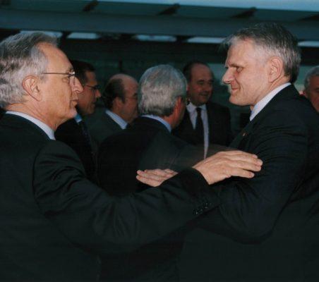 Ángel Durández y George Boomgaarden