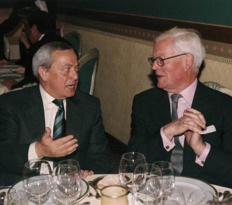 Carlos Solchaga y Douglas Hurd