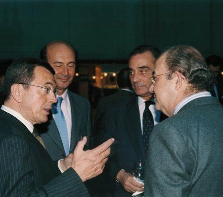 Santiago Martínez Lage, Miguel Iraburu, Carlos Fernández Lerga, Emilio Novela