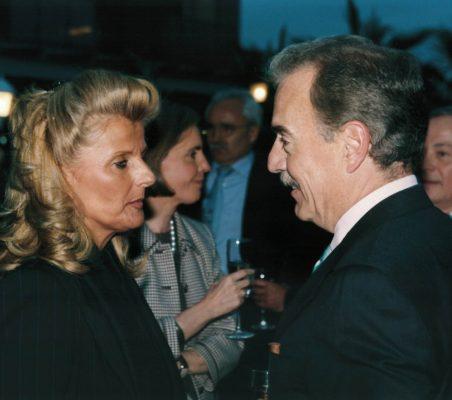 Isabel Tocino y Andrés Pastrana