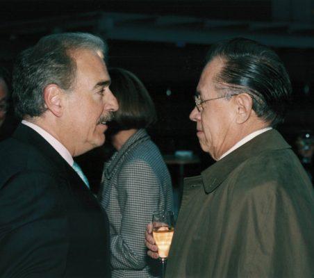 Andrés Pastrana y Fernando Solana