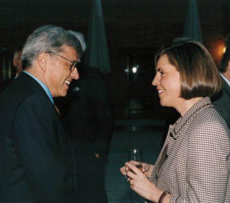 Carlos Moreira y Leonor Ortíz Monasterio