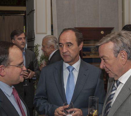 Carlos Álvarez, Jacinto López, y Eusebio Serrano