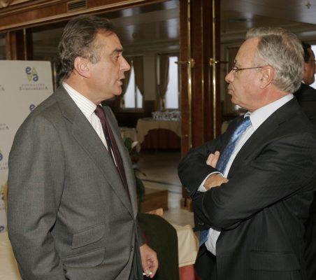 Carlos Fernández Lerga y Ángel Bizcarrondo