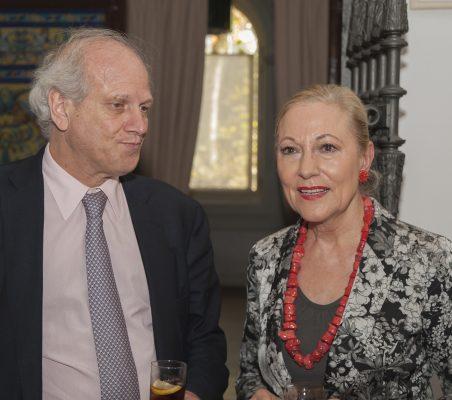 Carlos Malamud y Benita Ferrero- Waldner