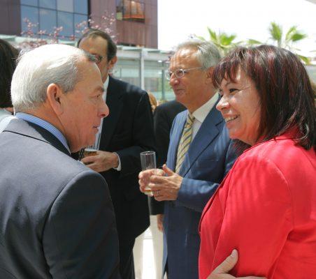 Carlos Solchaga y Cristina Narbona