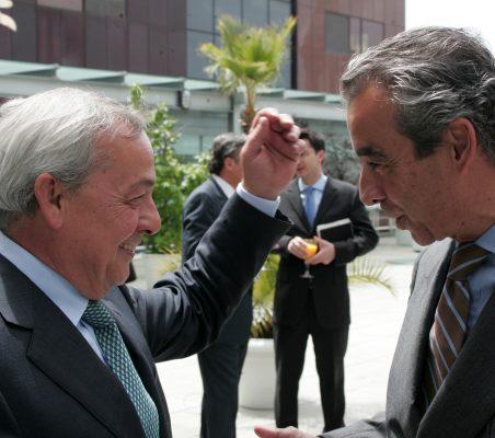 Carlos Solchaga y Francisco de Bergia