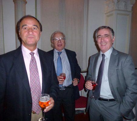 Jacinto López, Ángel Bizcarrondo y Justo Varona