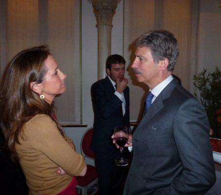 Patricia Alfayate y José Ignacio Salafranca