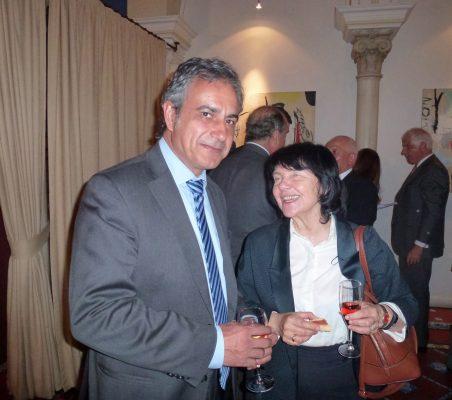 Luis Fernando Álvarez- Gascón y Regina Revilla