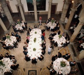 Cena en el Palacio de Santa Cruz, Ministerio de Asuntos Exteriores