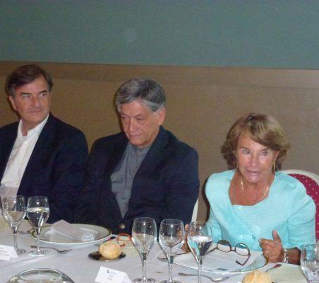 Jorge Cachinero, Embajador de Ecuador y Luisa Peña