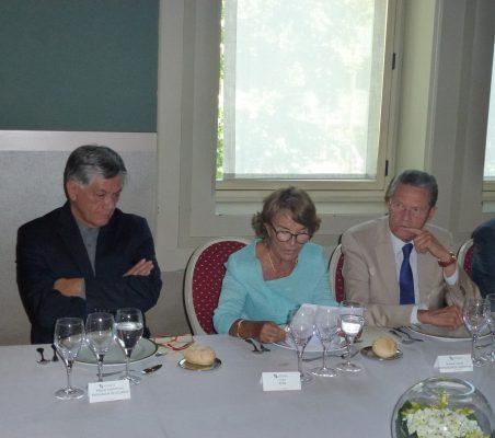 Embajador de Ecuador, Luisa Peña y Embajador de Honduras