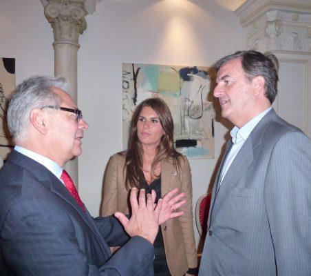 Germán Ríos y Jorge Cachinero