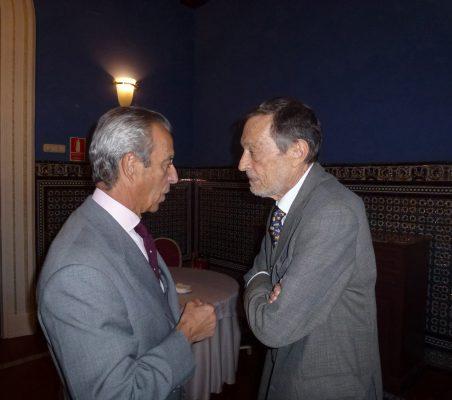 Francisco de Bergia y Emilio Cassinello