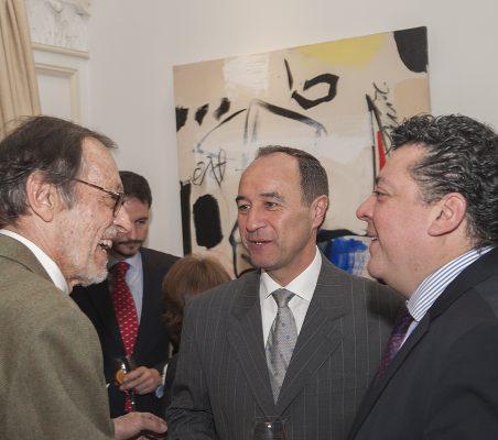 Emilio Cassinello, Jacinto López y Rául Félix Díaz