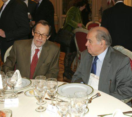 Emilio Cassinello y Enrique Iglesias