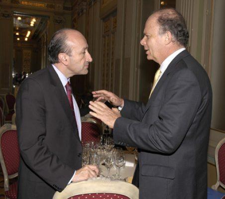 Miguel Ángel Cortés y Enrique Krauze