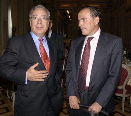 Ángel Bizcarrondo y Ernesto Jiménez