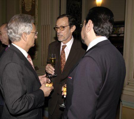 Ángel Durández y Emilio Cassinello