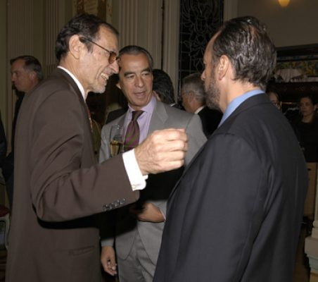 Emilio Cassinello , Francisco de Bergia y Luis Fraga