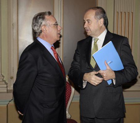Ángel Bizcarrondo y Miguel Vergara