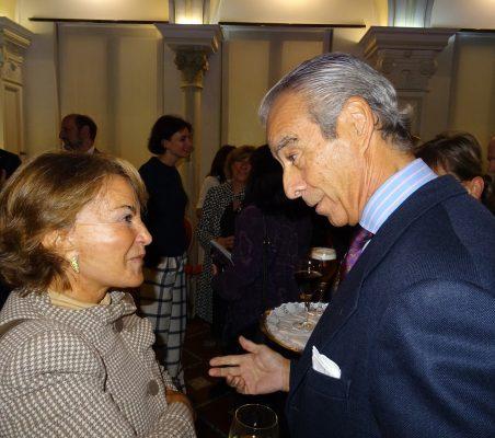 Luisa Peña y Francisco de Bergia