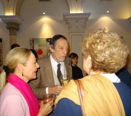 Benita Ferrero-Waldner, Emilio Cassinello y Roberta Lajous