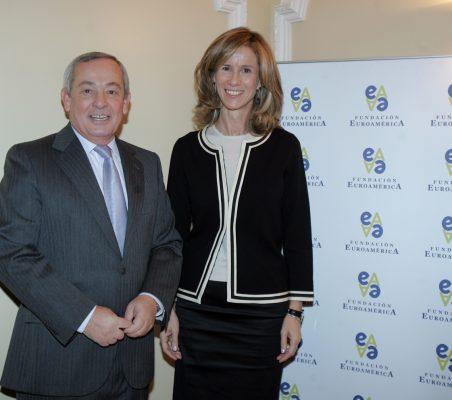 Carlos Solchaga y Cristina Garmendia