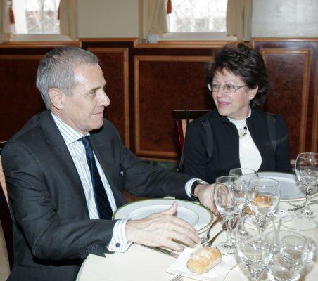 Ramón Reyes y Pilar Zugaza