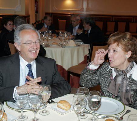 Ángel Durández y Carmen Caffarel