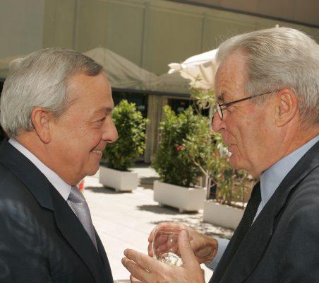 Carlos Solchaga y Antonio Garrigues