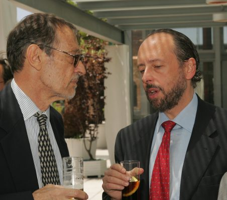 Emilio Casinello y Luis Fraga