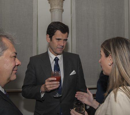 Germán Ríos, José María Sanz Magallón y Eva Piera