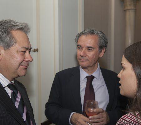 Germán Ríos, Jesús Prieto y Marta Fernández