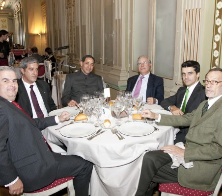 Gonzalo Babé, Ángel Bizcarrondo, Emilio Cassinello