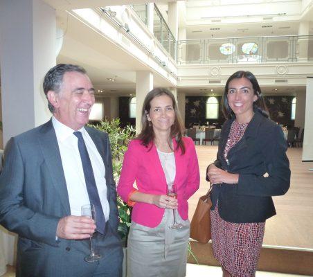 Justo Varona, Patricia Alfayate y María Lahore