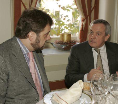 Gustavo de Arístegui y Carlos Solcahaga