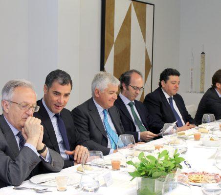 Ángel Durández, Samuel Urrutia, Avelino Acero, Ignacio Delgado, Rául Félix Díaz y Juan Ignacio de Guzmán