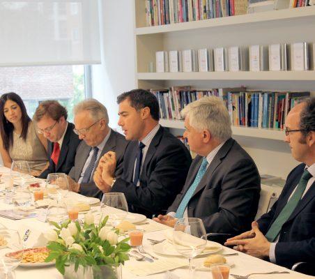 Nishma De Goldoni, Franco Fasoli,Ángel Durández, Samuel Urrutia, Avelino Acero e Ignacio Delgado