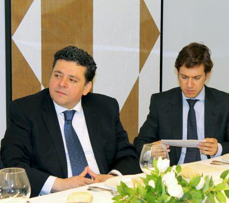 Raúl Félix Díaz y Juan Ignacio de Guzmán