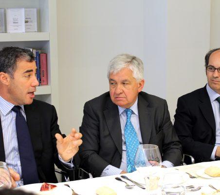 Samuel Urrutia, Avelino Acero e Ignacio Delgado