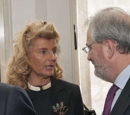 Isabel Tocino y Francisco Fonseca